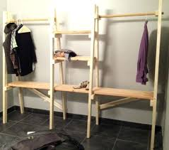 Free Standing Closet With Doors Build Free Standing Closet The Free Standing Closet