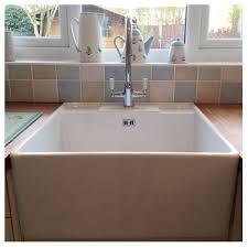 belfast sink in modern kitchen bluci vecchio g14 butler sink with tap ledge sinks taps com