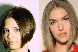 center part bob hairstyle middle part hairstyles are get smooth bob medium hair styles