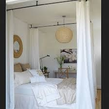ceiling mount curtain rods canopy bed 5632