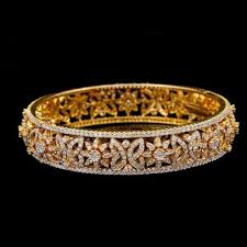 bracelet design diamond images Designer natural diamond bangle at rs 225000 piece diamond jpg