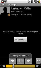 visual voicemail for android android app youmail visual voicemail android central