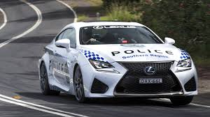 lexus rcf with turbo lexus rc f joins australia u0027s nsw police force
