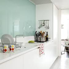 Trendy Minimalist Solid Glass Kitchen Backsplashes DigsDigs - Solid glass backsplash