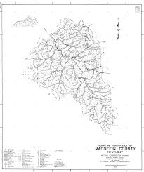 Map Of Kentucky State by Magoffin County Kentucky Kygenweb