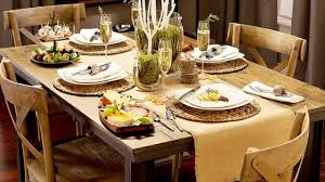 Martha Stewart Dining Room Furniture by Thanksgiving Table Decor Ideas Youtube