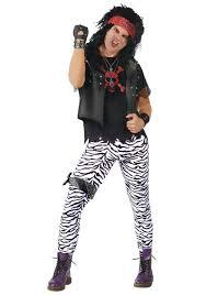 zebra halloween costume rocker dude rock of ages theme party pinterest rockers