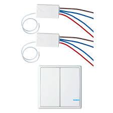 wireless wall light switch 1 pk 2 way wireless switch 2 pk remote receiver smart wireless wall
