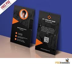 Business Card Psd Free Modern Corporate Business Card Template Free Psd Psdfreebies Com
