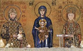 the early middle ages art style was referred to as byzantine art byz5