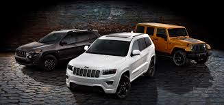 gray jeep grand cherokee with black rims jeep launches blacked out altitude special editions