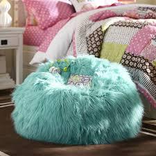 bean bag chairs for girls deep pool fur rific beanbag pbteen