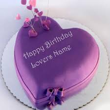 awesome heart birthday wishes lover name cakes pictures