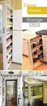 clever kitchen storage ideas small kitchens spice racks and storage