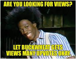 Buckwheat Meme - buckwheat imgflip