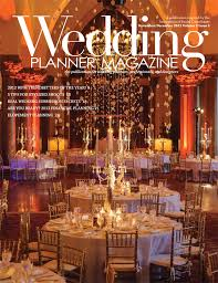 wedding designer featured in wedding planner magazine nov dec 2012 housley