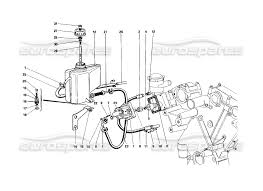 ferrari 458 sketch ferrari 412 mechanical rear suspension oil tank and oil pump