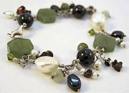 garnet bracelet silver images Garnet pearl jade silver wire bracelet silver garnet bracelet JPG