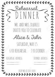 dinner invitation template