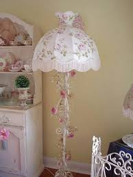 White Shabby Chic Floor Lamp by 331 Best Shabby Chic Lamps U0026 Chandeliers Images On Pinterest