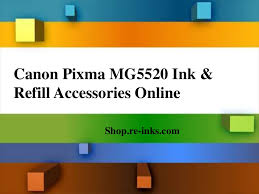 canon pixma mg5520 ink and refill accessories online
