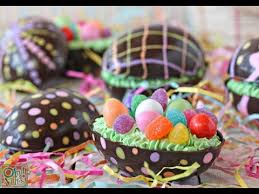 filled easter eggs how to make brownie filled chocolate easter eggs food arts