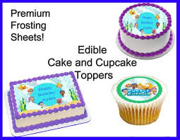 guppies cake toppers design edible cake toppers for birthdays excellent best 25
