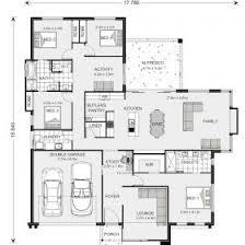 image of floor plan floor plan friday u shaped 5 bedroom family home