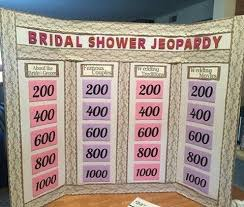 interactive bridal shower 25 best bachelorette jeopardy ideas on bridal