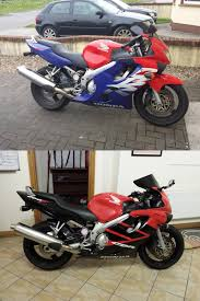 new cbr 600 just put new fairings on my cbr600 after my friend had a little