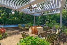 Drysnap Under Deck Rain Carrying System by Arcadia Louvered Roof Lake View Outdoorliving Featured