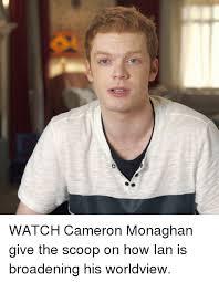 Cameron Meme - 25 best memes about cameron monaghan cameron monaghan memes