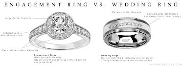 engagement ring vs wedding ring wedding ring vs engagement ring what s the difference