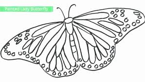 butterfly coloring pages pics butterfly wings coloring pages