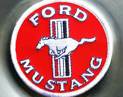 ford mustang patch vintage patch etsy