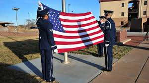 Flag Folding Ceremony Cannon Honors Ratchet 33 U003e Air Force Special Operations Command