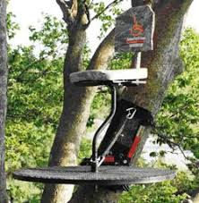 johnson 360 fully adjustable tree stand for any crooked tree