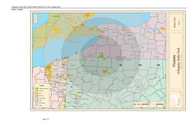 Wv State Parks Map by Allegany State Park Maps For Information About Hiking Backpacking