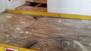 Squeaky Bathroom Floor The Squeaky Floor Doctor Plywood Sub Floor Wood Repair Experts 50