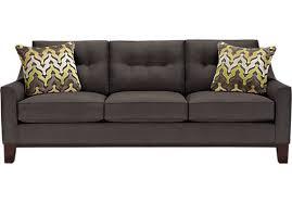 Rooms To Go Sofa by Cindy Crawford Home Montclair Slate Sofa Sofas Gray