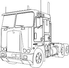 kenworth truck builder kenworth k100 long trailer truck coloring page wecoloringpage
