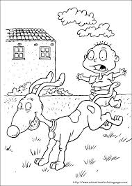 Rugrats Coloring Pages Educational Fun Kids Coloring Pages