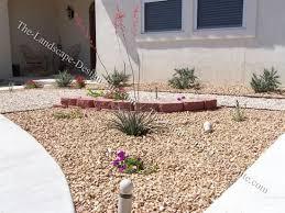 Desert Landscape Ideas by Desert Landscape Front Yard Flower Bed