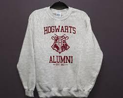 hogwarts sweatshirt etsy