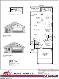 House For Plans Allendale Adams Homes