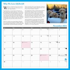2014 calendar from the office of the mayor of idyllwild