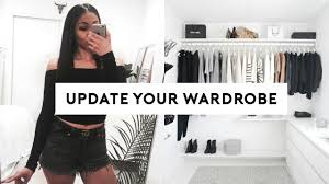 how to update your wardrobe on a budget 5 easy tips youtube