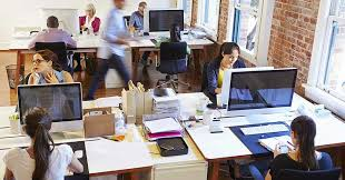 open plan office layout definition open versus closed office layouts pros and cons k mark