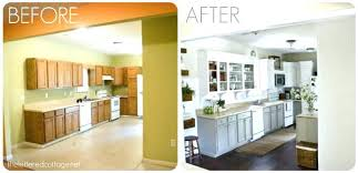 painted kitchen cabinets before and after kitchen cabinet paint datavitablog com