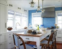 Coastal Inspired Kitchens - kitchen beach themed wall decor beach style kitchen cabinets